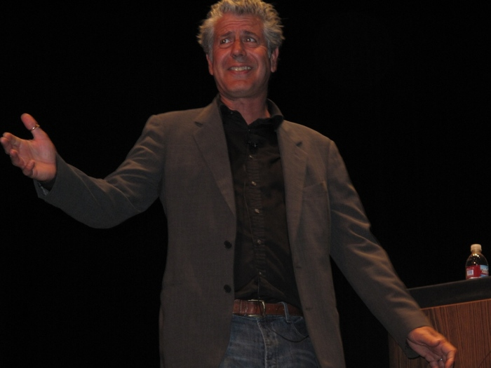 Anthony Bourdain speaking in Cupertino, May 28th, 2009