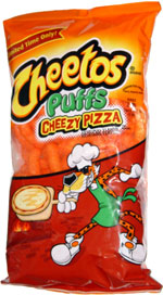 Guilty: Pizza Flavored Cheetos